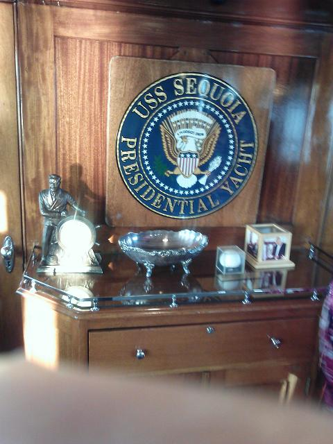 Uss sequoia pictures presidential yacht